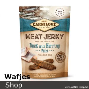 CARNILOVE-MEAT-JERKY-Duck-with-Herring-Fillet