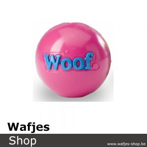 Orbee-Tuff-Woof-Ball Pink