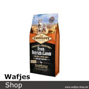 CARNILOVE - Fresh Ostrich & Lamb for small dogs 6kg