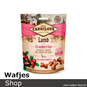 CARNILOVE - Crunchy Snack Lamb with Cranberries