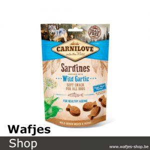 CARNILOVE - Soft Snack Sardines with Wild Garlic