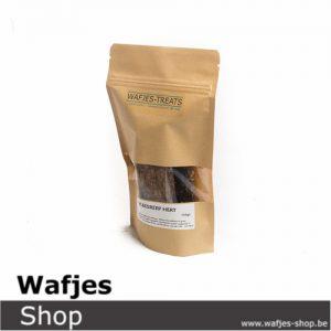 wafjes-treats-vleesreep Hert