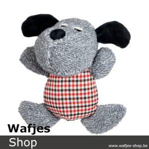 Velvetties Hond Rood Blauw