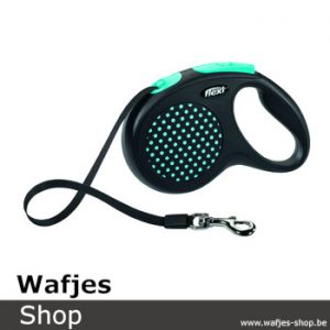 Flexi Design Tape M Zwart/Blauw
