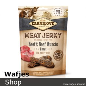 CARNILOVE - MEAT JERKY - Beef with Beef Muscle Filet
