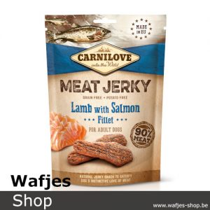 CARNILOVE - MEAT JERKY - Lamb with Salmon Fillet