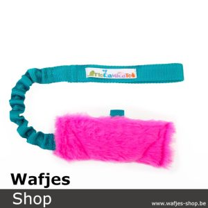 Floramicato Fluffy Nyam L Pink Turquoise